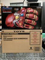 IN STOCK USA NOW!!! Marvel Legends Gear Avengers Endgame Iron Power Gauntlet