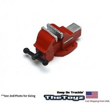 Crawler, Drift RC Scale Garage Miniature Replica Red Bench Vise TSH-BV03