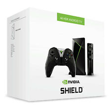 NUOVO Nvidia Shield TV 2017 16 GB 4K Tegra X1 PC Gaming lo streaming di