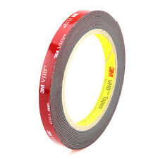 10mm x 3.6m Black 3M VHB 5952 Heavy Duty Double Side Adhesive Acrylic Foam Tape