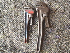 """Vintage Set Of 2 Pipe Wrenches,1,Craftsman 10"""",1,Fuller 8"""" AWESOME COLLECTIBLES"""