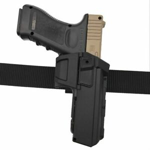 Concealed Movable Right Hand Flashlight Gun Pistol Holster for Glock 17 18 19 34