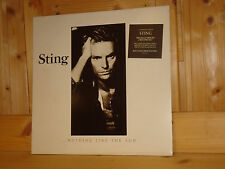 STING Nothing Like The Sun ORIG 1st GERMAN A&M 2 LP 1987 NM w/ Poster