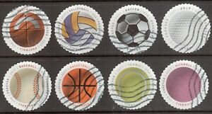 Scott #5203-10 Used Set of 8, Have a Ball (Off Paper)