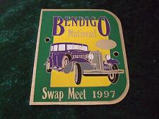 GRILLE / CAR BADGE - 1934 CHRYSLER - BENDIGO NATIONAL SWAP MEET 1997