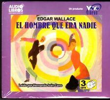 El Hombre Que Era Nadie [The Man Who Was Nobody]  (Audio CD) by E. WALLACE - NEW