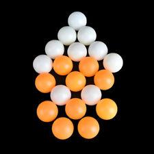 10pcs children Table Tennis Ball 40mm Diameter Ping Pong Balls kids TraininVG