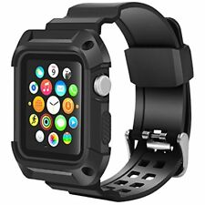 Smart Watch Bands Apple 42mm, Wolait Rugged Protective Frame IWatch Case With