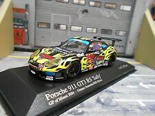 PORSCHE 911 GT3 RS Carrera Miami GP Black Sally #79 Cars Gunnar Minichamps 1:43