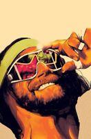 Macho Man Randy Savage HyperCool Wrestling Glossy Art Print 8x10 WWF WCW