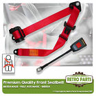 Front Automatic Seat Belt For Austin Healey 3000 Mk2 BT7 Convertible 1959-62 Red