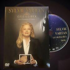 SYLVIE VARTAN - LIVE AU GRAND REX 2018 DVD Hommage à Johnny Hallyday