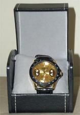 WINNER WRISTWATCH ~ BLACK LEATHER BAND ~ IN GIFT BOX