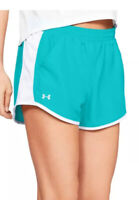 NWT WOMENS UNDER ARMOUR FLY BY RUNNING SHORTS ~ SIZE EXTRA SMALL OR SMALL