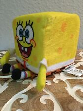 "Nanco Spongebob Squarepants Cube Plush Toy 6"" Tall Square Stuffed Toy (uw2)"