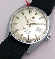 NOS Vintage Roamer Superking Date, hand Winding Swiss Made men's wrist watch