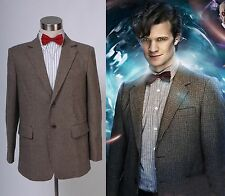 11th Doctor Jacket Suit For Man Halloween Cosplay Costume Custom Made