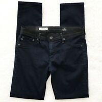 Adriano Goldschmied AG 'The Ally' Blue Black Color-Blocked Legging Jeans Sz 29R