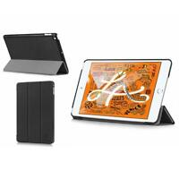 August Genuine Black PU Leather Thin Case Cover For Apple iPad mini 5th Gen