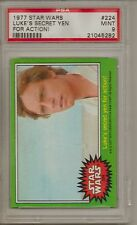 1977 STAR WARS #224 LUKE'S SECRET YEN FOR ACTION  PSA 9 MINT