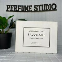 Byredo Baudelaire Eau de Parfum EDP 3.3oz/100ml *Men Authentic NEW* 💯% original