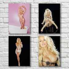 Pamela Anderson Poster A4 NEW Set of 4 Sexy Hot Playboy Babe Home Wall Decor #2