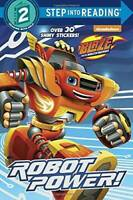 Robot Power! (Blaze and the Monster Machines) (Step into Reading) - ACCEPTABLE
