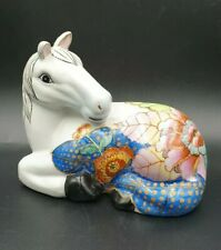 Cheval ancien chinois chinese vintage antique porcelaine Hua Ping Tang Zhi
