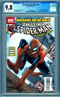 AMAZING SPIDER-MAN #546 CGC 9.8 NM/MT 1ST APPEARANCE Of THE 2ND  JACKPOT