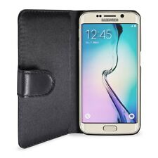 Artwizz SeeJacket Leder Etui Schutzhülle Case Clip Galaxy S6 EDGE schwarz B-Ware
