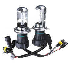 55W H4-3 bi-xenon H4 HID Hi/low Headlight Replacement bulb Globe light 8000K
