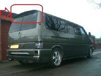 VW T4 TRANSPORTER / CARAVELLE / MULTIVAN REAR ROOF BARN DOORS SPOILER (in primer