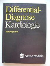 Differentialdiagnose Kardiologie 1982 Kardiale Zyanose Dyspnoe Herzschmerz ...