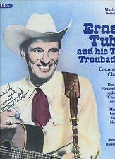 ERNEST TUBB and hit texax troubadours RADIO SHOW OF CHECKERBOARD JAMBOREE ex LP