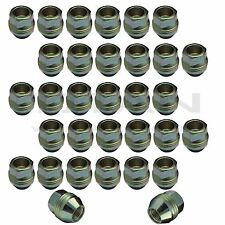 32 Piece | 14x1.5 Open End Lugs Nuts Factory Style Lugs fits Chevy GMC GM