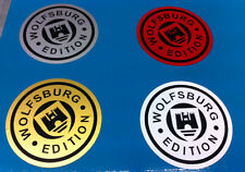 Wolfsburg edition stickers/decals 100mm x 100mm