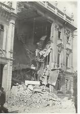 FOTOGRAFIA ORIGINALE_ALESSANDRIA SEDE SOCIETA' TELEFONI_ 30 APRILE 1944 _MACERIE
