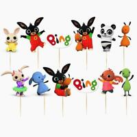 BING BUNNY CUPCAKE cake toppers toppers decoration supplies party balloons