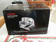 NIB AICOK ELECTRIC MEAT BREAD CHEESE SLICER NEVER USED