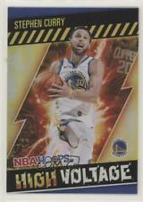 2020-21 Panini NBA Hoops High Voltage Stephen Curry #2