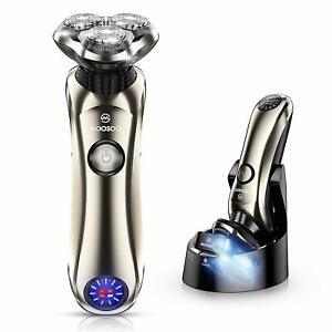 MOOSOO 8G Cordless Razor for Men Wet/Dry Electric Shaver w/Precision Trimmer US