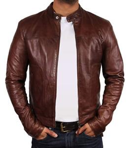 Tailor Made Men's Genuine Leather Jacket Coat Designer Stylish Jackets