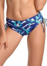 Fantasie Cancun Adjustable Bikini Brief Short 5718 Blue Bird UK Extra Large (s5)