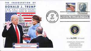 FDC USA Presidential Inauguration Day D. TRUMP - 45th President USA (T2) 2017