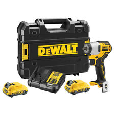 "Dewalt DCF902D2 12V Brushless 3/8"" Impact Wrench 2 x 2Ah Batteries Charger Case"