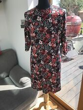 Marks And Spencer Floral Soft Fabric Dress Size 20