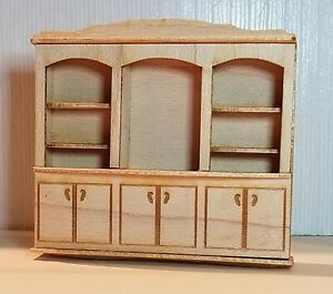 1:48 inch scale miniature BACK COUNTER, KIT