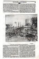 RODI RODOS RHODES GRECIA 1839. PORTO (lit s. puglia)