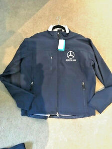 Jacket mercedez benz AMG XL navy mens New with tags