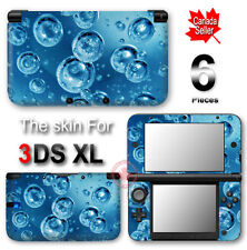 Cool Water Bubbles SKIN VINYL STICKER DECAL COVER for Nintendo 3DS XL